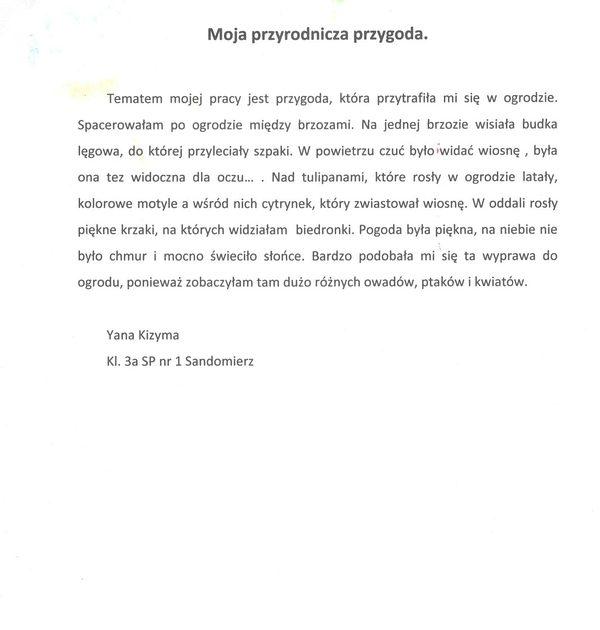 Kizyma Yana opis